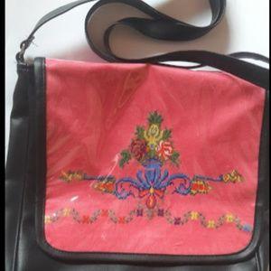 Bags - embroidered handbag set women pu leather maqam sho